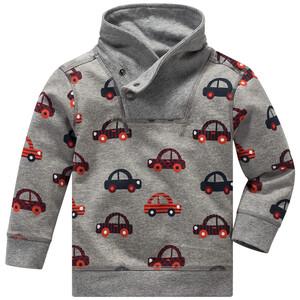 Baby Sweatshirt mit Auto-Allover