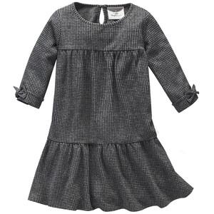 Mädchen Kleid mit dezentem Allover-Muster