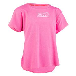 T-Shirt fließend Modern Dance Mädchen rosa