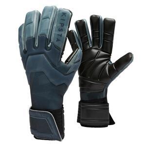 Torwarthandschuhe F900 Cold innenliegende Nähte Erwachsene schwarz