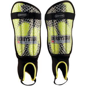 Schienbeinschoner Protect Flash mit Knöchelschutz gelb