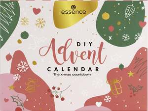 essence DIY Advent CALENDAR The x-mas countdown