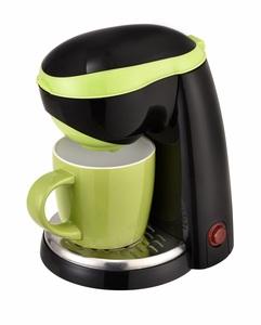 Kalorik 1-Tassen-Kaffeeautomat TKG CM 1015 Schwarz-Grün inkl. Keramiktasse