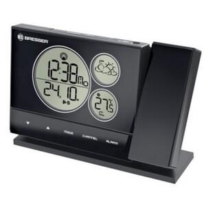 Bresser® Funkwetterstation mit integriertem Projektor, schwarz