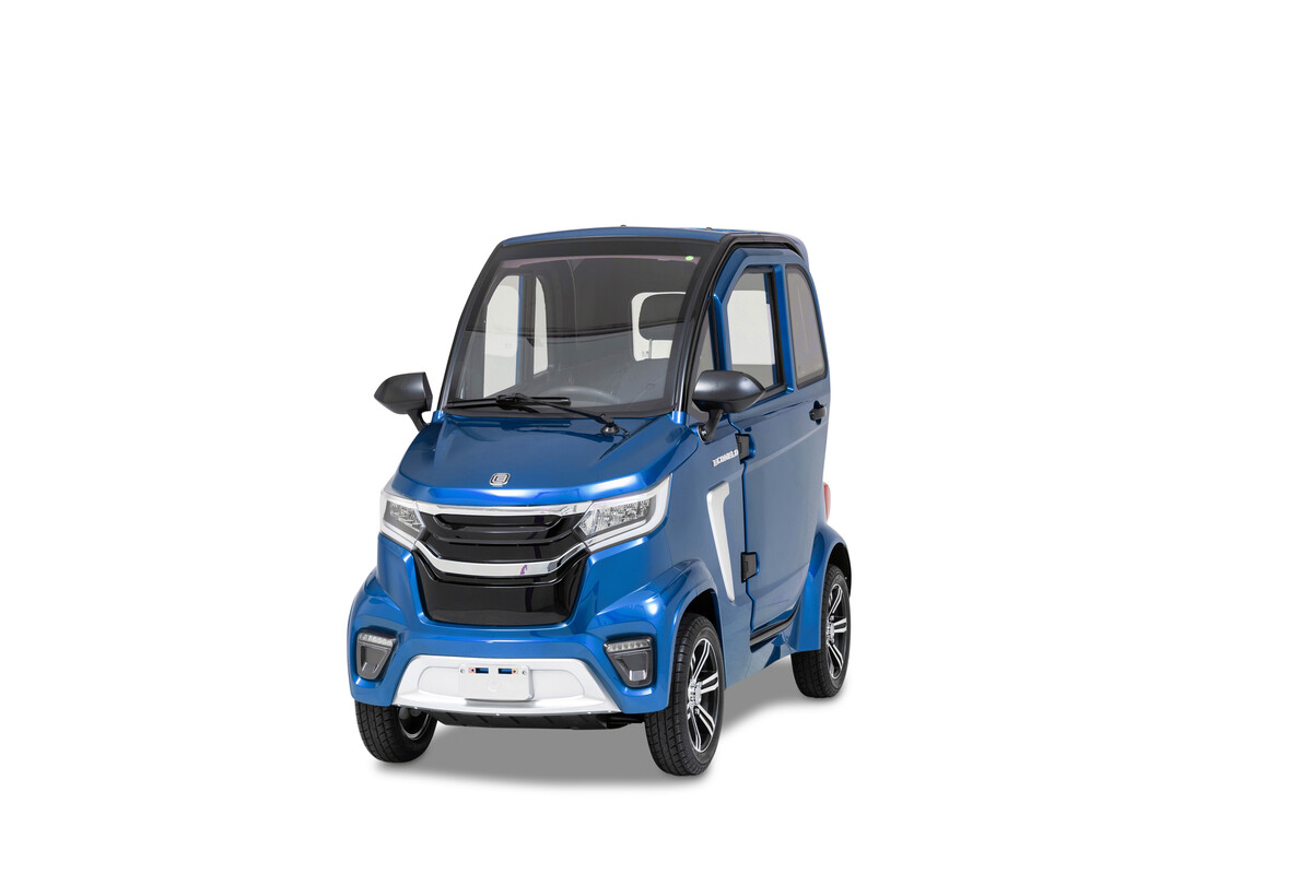 Bild 1 von ECONELO Elektro Kabinenroller M1 45 km/h blau