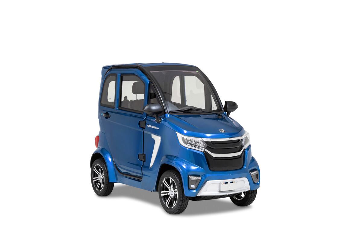 Bild 4 von ECONELO Elektro Kabinenroller M1 45 km/h blau