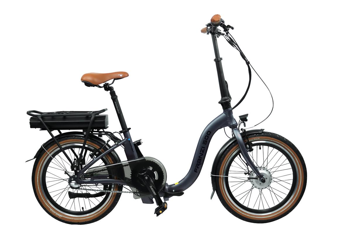 Bild 1 von Blaupunkt Falt-E-Bike FRANZI 500 inkl. Fahrradtasche