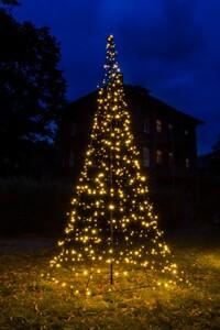 Star-Max Galaxy LED Tannenbaum 200 cm mit 300 warm weißen und blinkenden LED