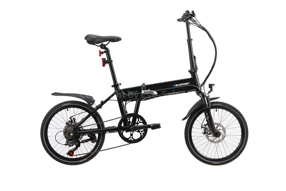 Bild 1 von BLAUPUNKT Falt-E-Bike Carl 290 inkl. Fahrradtasche