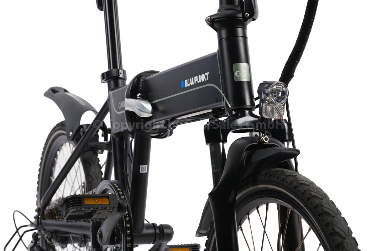 Bild 3 von BLAUPUNKT Falt-E-Bike Carl 290 inkl. Fahrradtasche