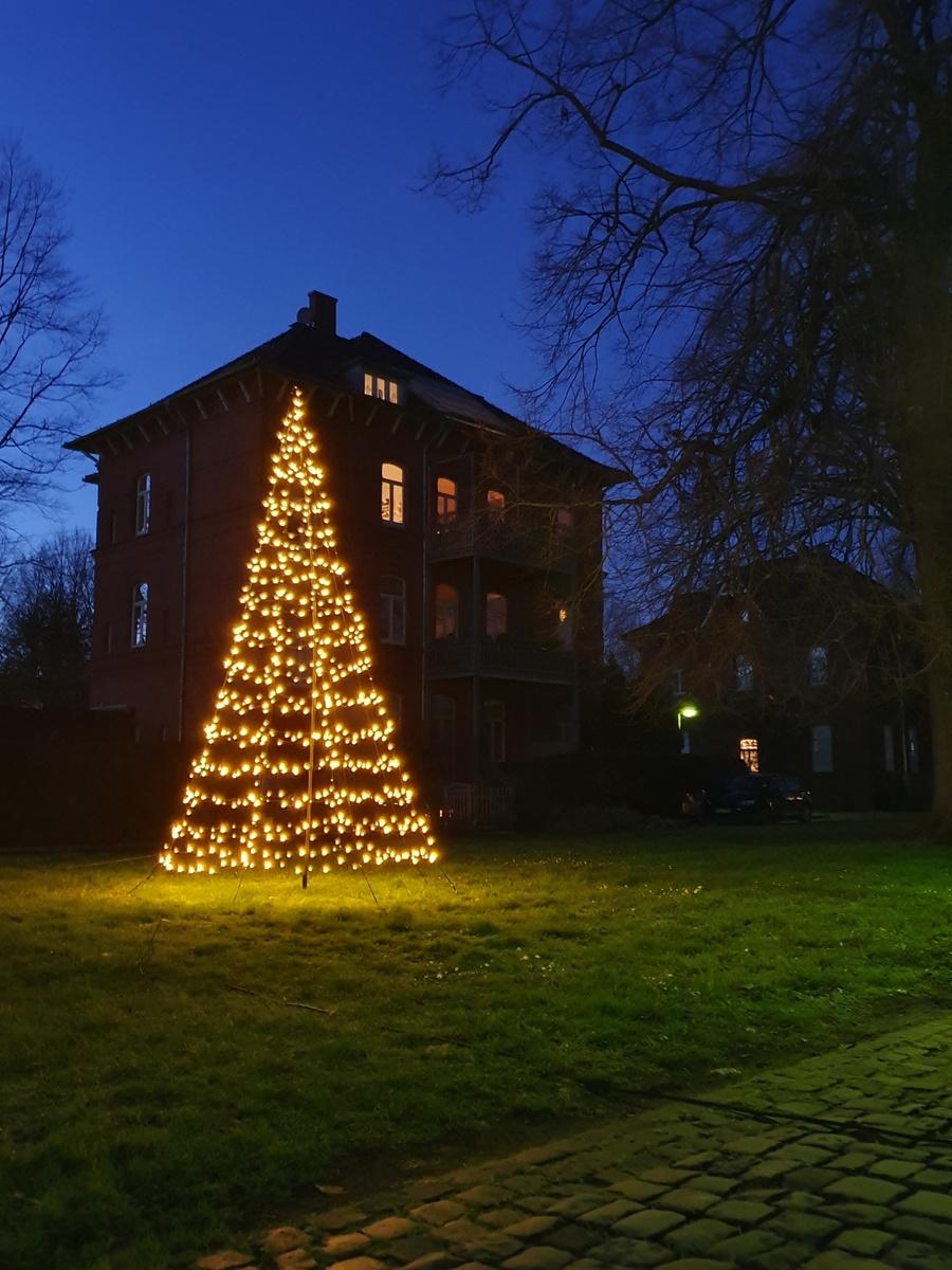 Bild 2 von Star-Max Galaxy LED Tannenbaum 300 cm mit 480 warm weißen LED