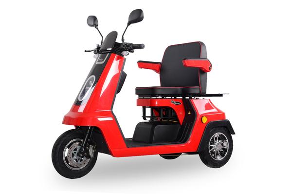 DocGreen Elektromobil EM 2000 - Rot