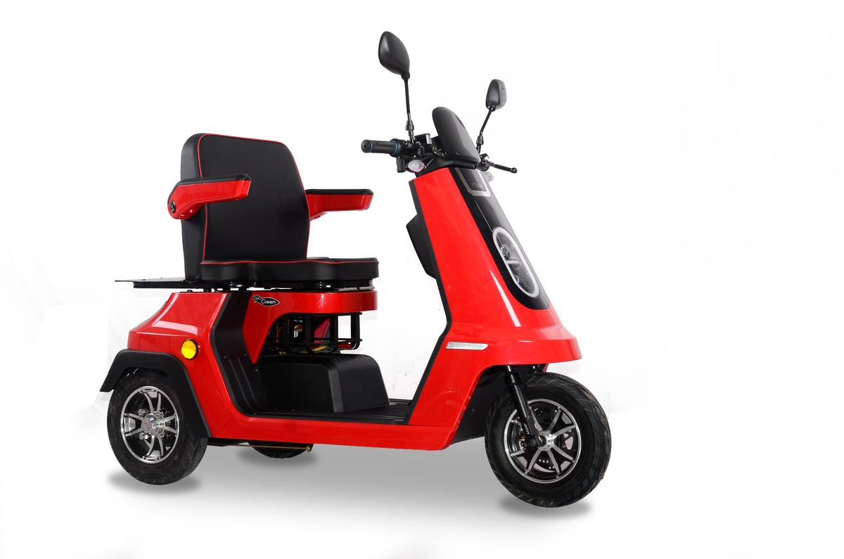 Bild 3 von DocGreen Elektromobil EM 2000 - Rot