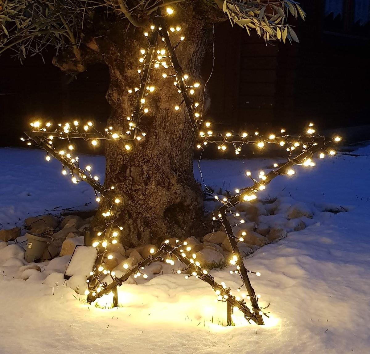 starmax gartenstecker stern xxl ø 90cm von norma ansehen