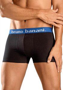Bruno Banani Boxer (4 Stück) mit Kontrast-Webbund