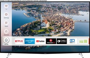 Hanseatic 65H500UDS LED-Fernseher (164 cm/65 Zoll, 4K Ultra HD, Smart-TV, HDR10)