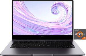 Huawei MateBook D 14 Notebook (35,56 cm/14 Zoll, AMD Ryzen 5, Vega 8, - GB HDD, 512 GB SSD, inkl. Office-Anwendersoftware Microsoft 365 Single im Wert von 69 Euro)