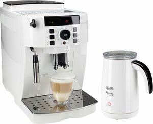 De'Longhi Kaffeevollautomat ECAM 21.118.W, inkl. Milchaufschäumer im Wert von UVP 89,99
