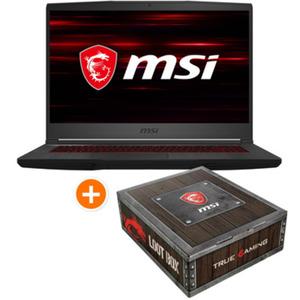 """MSI GF65 9SEXR-449 Thin + MSI Loot Box - 15,6"""" FHD IPS, Intel i5-9300H, 8GB RAM, 512GB SSD, GeForce RTX 2060, Windows 10"""