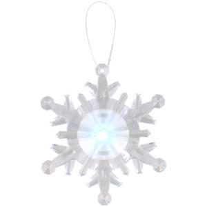 Schneeflocke mit LED