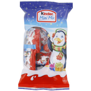 Kinder Weihnachtsmix Schokolade