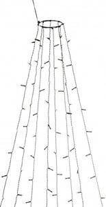 Konstsmide LED Baummantel mit Ring Kunststoff
