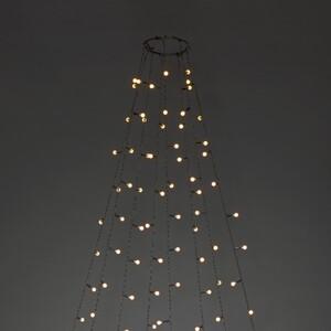 Konstsmide LED Baummantel mit Ring Ø 11 cm 8 Stränge a 30 Dioden
