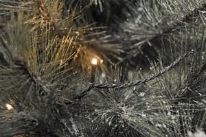 Konstsmide LED Microlichterkette für Außen 120 LED, bernstein