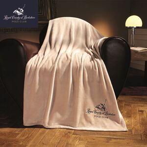 Polo Club Premiumdecke 150x200cm Off-White