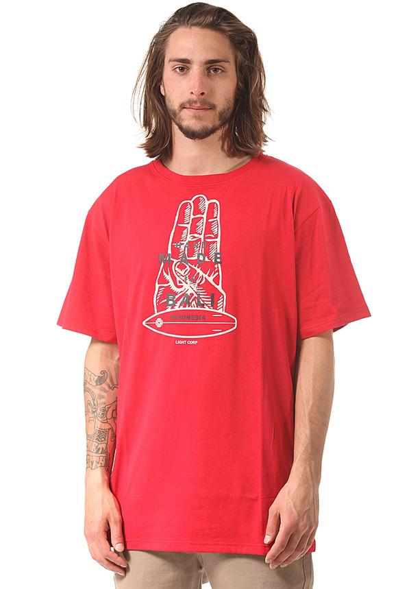 Light Handmade - T-Shirt für Herren - Rot