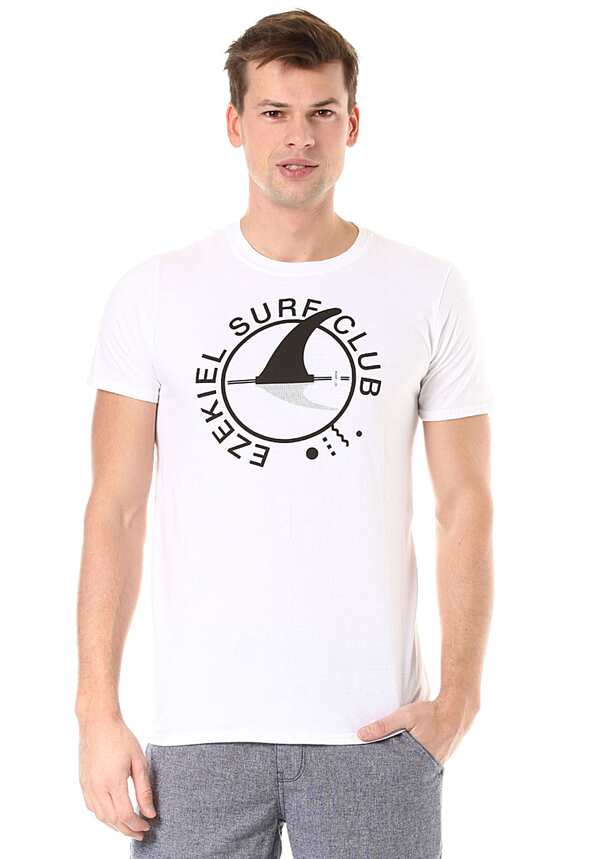 EZEKIEL Surf Club - T-Shirt für Herren - Weiß