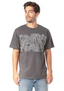 PLANET SPORTS Leaves - T-Shirt für Herren - Grau