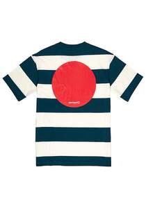 Element Tokyo Flag Cr - T-Shirt für Herren - Streifen