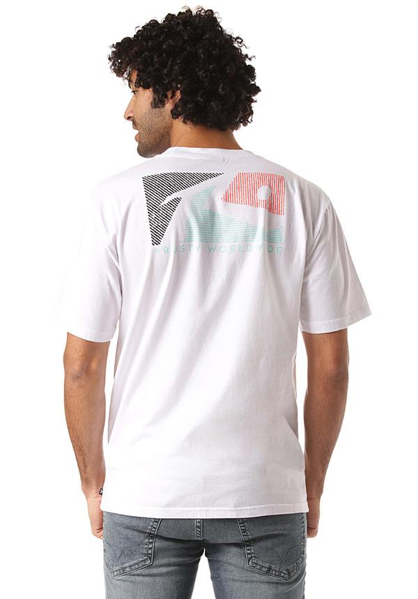 Rusty The Flop - T-Shirt für Herren - Weiß
