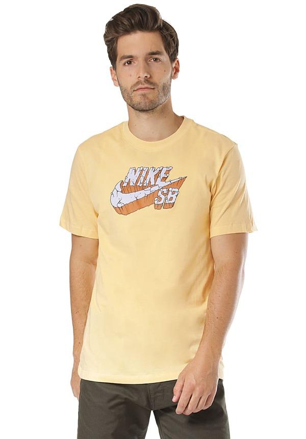 NIKE SB Concrete - T-Shirt für Herren - Gelb
