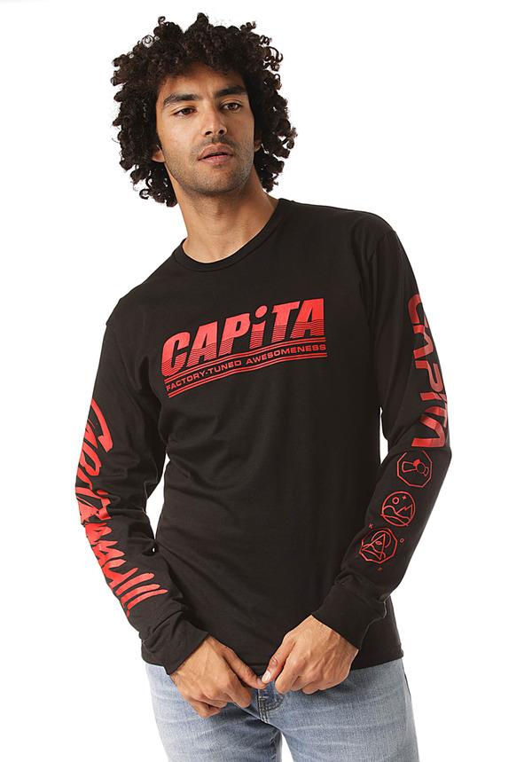 Capita Factory - Langarmshirt für Herren - Schwarz