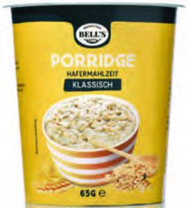 Breakfast from Bell's Porridge Cup