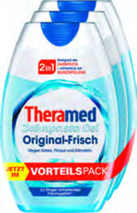 Theramed 2-in-1 Zahncreme im 3er-Pack