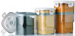 GOURMETmaxx 3er-Set Vakuum-Aufbewahrungsdosen