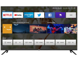CHIQ LED-Fernseher 55 Zoll U55H7S 4K-UHD Android TV
