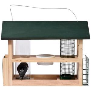 Futterstation 7in1 für Wildvögel aufhängbar