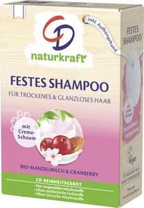 CD Festes Shampoo Bio-Mandelmilch & Cranberry