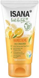 ISANA liebt die Erde Handcreme Orange