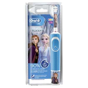 Oral-B Elektrische Kinderzahnbürste Vitality d100k Frozen Spiderman Mix
