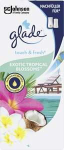 Glade Touch & Fresh Minispray Nachfüller Exotic Tropical Blossoms