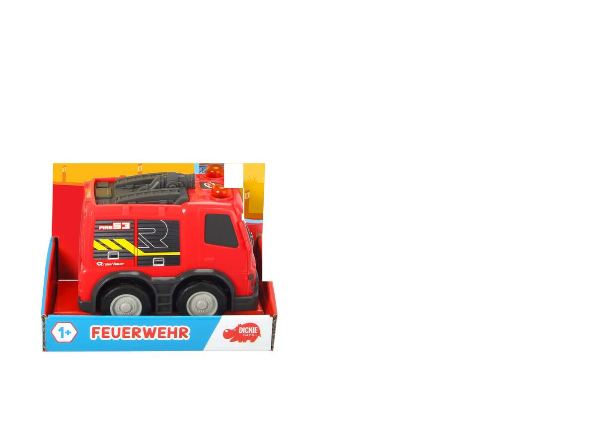 Bild 1 von Dickie Toys Was ist Was- Feuerwehr Fahrzeug