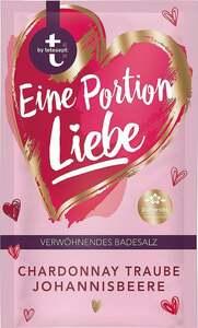 t by tetesept Badesalz Eine Portion Liebe