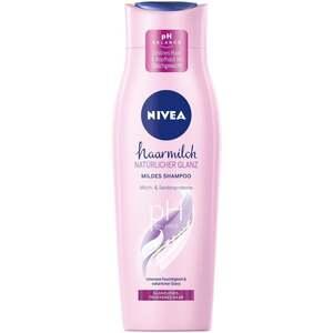 NIVEA Mildes Shampoo haarmilch natürlicher Glanz