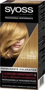 Syoss Professional Performance permanente Coloration 8_7 Honigblond