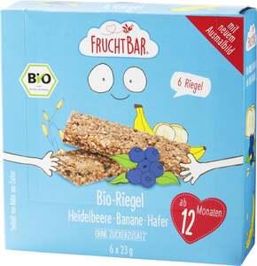 FruchtBar Bio-Riegel Heidelbeere-Banane-Hafer
